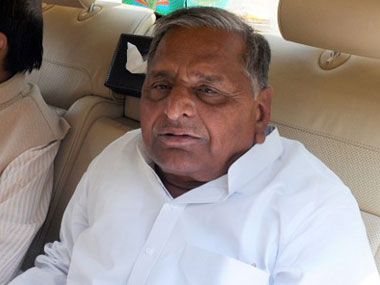 Mulayam Singh Yadav in this file photo. AFP