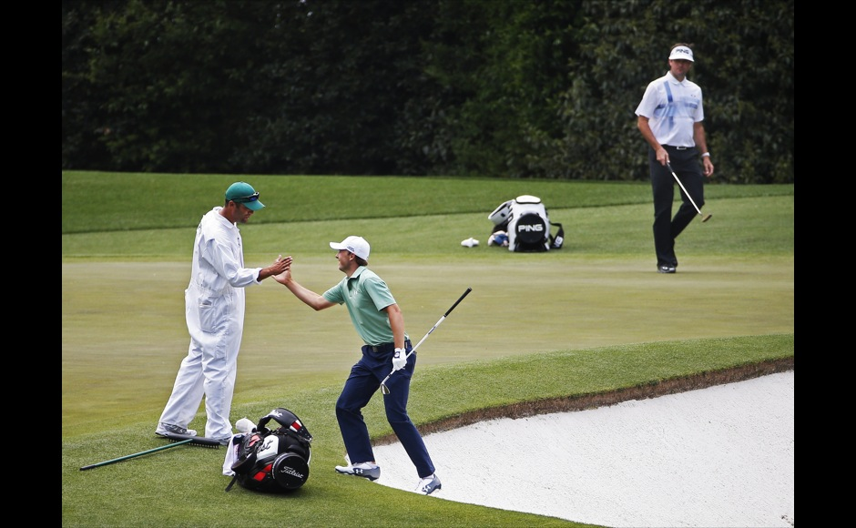 Photos Small town guy Bubba Watson wins second Masters