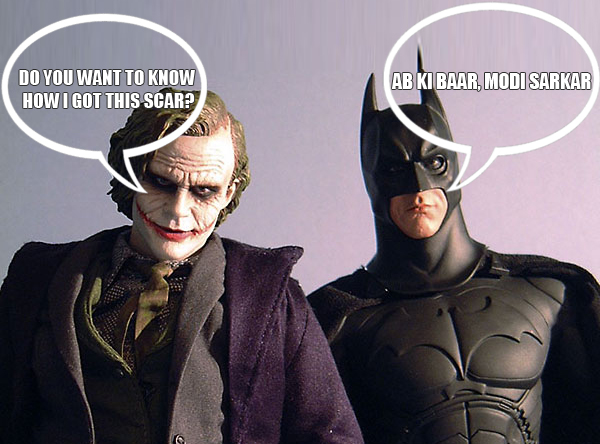 Even Batman and Joker are discussing this.
