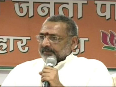 India paying price for not sending Muslims to Pakistan during Independence says Giriraj Singh while canvassing for CAA in Bihar