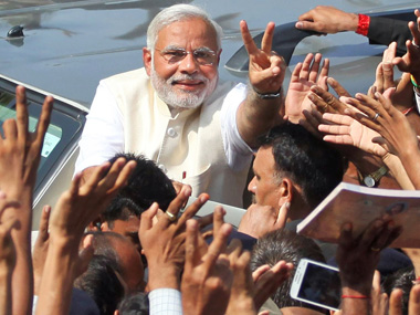 According to early trends, Narendra Modi has led his party to the biggest victory. AP