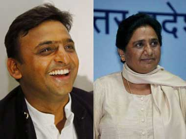 SPBSP joined hands to fight BJP but latest remarks by Mayawati Akhilesh Yadav indicate quiet fear of Congress