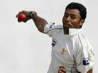 File picture of Danish Kaneria. Reuters