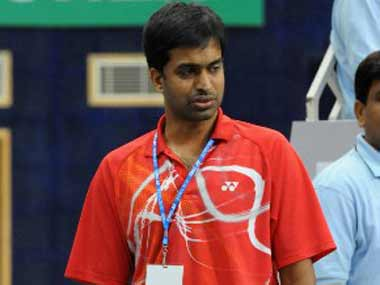 File picture of Pullela Gopichand. AFP