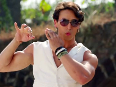 Tiger Shroff in this screengrab from the movie trailer on YouTube.