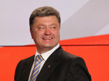 Poroshenko slams Moscow as Ukraine Russia clash at eastern border