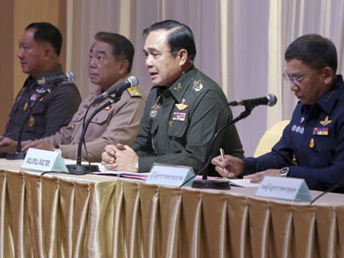 Thailand coup live Army dissolves Senate takes over law making