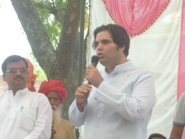 Elections 2014 The unusual campaign of Varun Gandhi