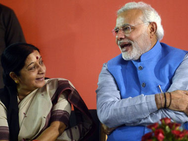 Sushma Swaraj becomes first woman external affairs minister since Indira