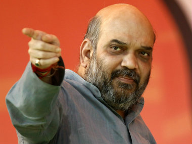 Amit Shah was elected GCA president. Reuters