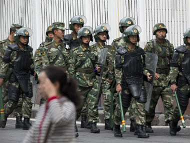 China 29 arrested in antiterror crackdown in Xinjiang