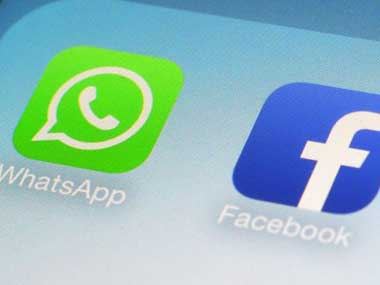 Facebook and WhatsApp logos are seen in this file photo. Image used only for representational purposes. AP
