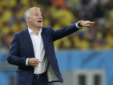 Euro 2016: France are better when they 'go a bit crazy', says coach Didier Deschamps