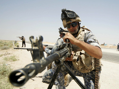 Iraq insurgency US moves troops ammo into the Gulf region