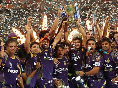 The record nine successive wins that won KKR their second IPL title