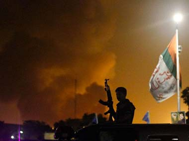 Gunfire and explosions lit up the Karachi night sky: AP