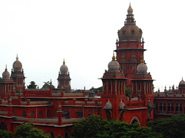 Advocates sport black cloth over mouth to press for Tamil as court language in Madras HC