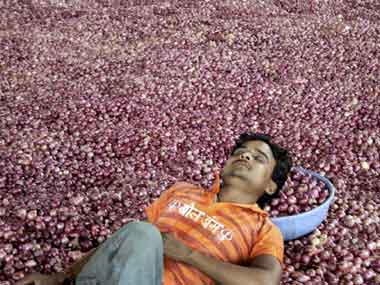 Onion prices set to soar further in coming weeks expect stability in rates only after Diwali with arrival of new crop say traders