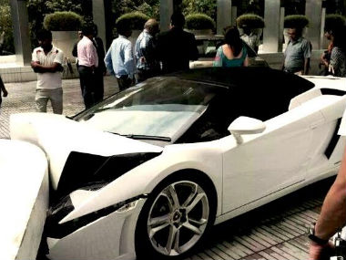 Video How a hotel valet wrecked a Lamborghini worth Rs 3 crore