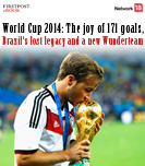 World Cup 2014: The joy of 171 goals, Brazil\'s lost legacy and a new Wunderteam