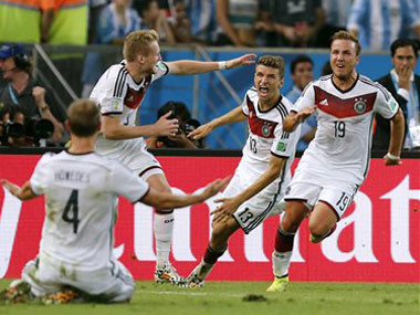 Numbers Game All the stats from Germanys fourth World Cup triumph