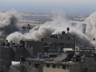 Gaza conflict spirals as Israeli air raids hit over 320 Hamas targets overnight