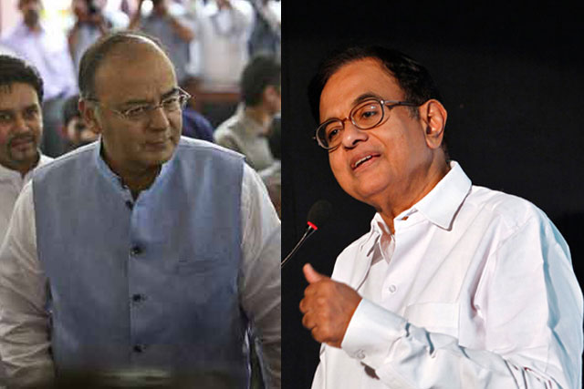 Arun Jaitley and P Chidamabram. Architects behind the GST bill. Reuters