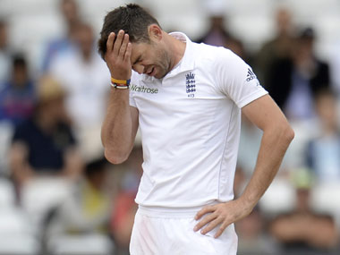 James Anderson faces up to 4Test ban for pushing abusing Jadeja