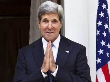 John Kerry in a file phot. AFP