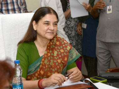 BJP distances itself from Maneka's letter of support to Jayalalithaa