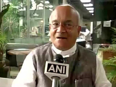 Vaidik in this photo. Image from ANI Twitter account.