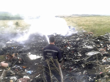An Air India flight was near MH17 Technology nails Indian Ministrys lie