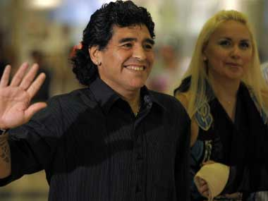 Diego Maradona's charity game postponed for 2nd time due to Durga Puja immersion, Muharram