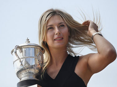 Maria Sharapova. AFP.