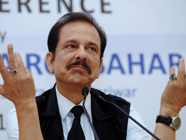 Sahara's Subrata Roy in jail by choice, says SC bench
