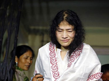 Irom Sharmila will break her fast on 9 August. AFP