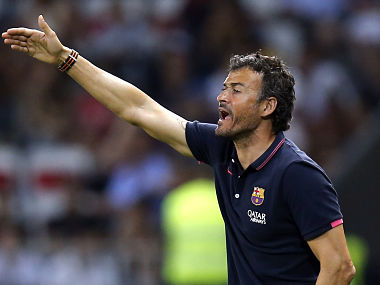 Former Barcelona coach Luis Enrique named Spains national football team coach