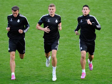Real Madrid to unleash new signings Rodriguez and Kroos in Super Cup