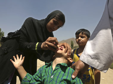 Afghanistan has a new war to fight one against polio