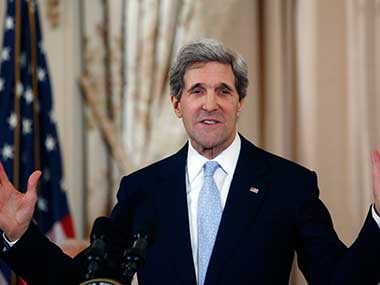 US Secretary of State John Kerry. Reuters