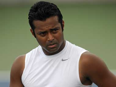 File photo of Leander Paes. Reuters