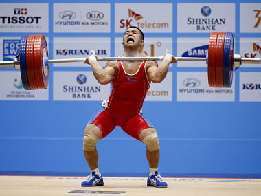 Asian Games How North Korean weightlifters broke stones with eggs