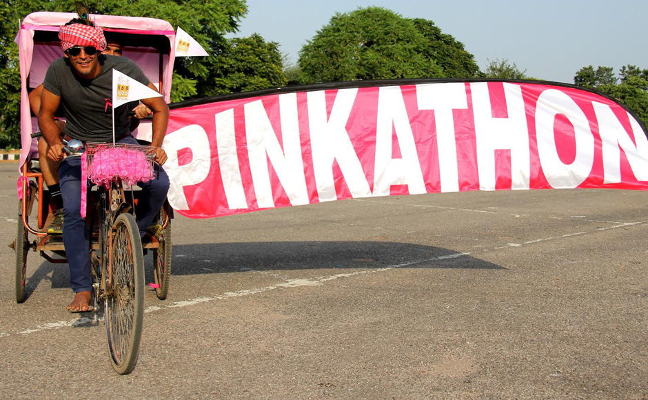 Photos From sarees to burqas Pinkathon brings you the newest running gear