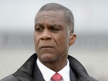 File image of Michael Holding. Getty