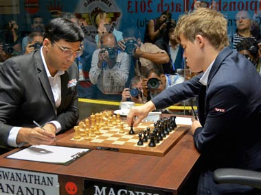 Anand eyes world title in rapid and blitz chess as Carlsen starts favourite