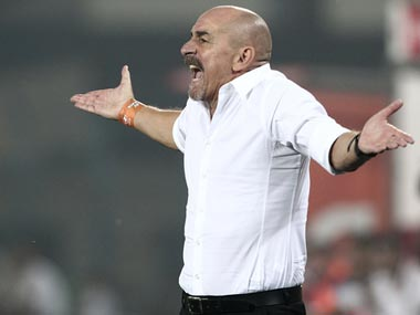 New FC Pune City Coach, Antonio Habas.