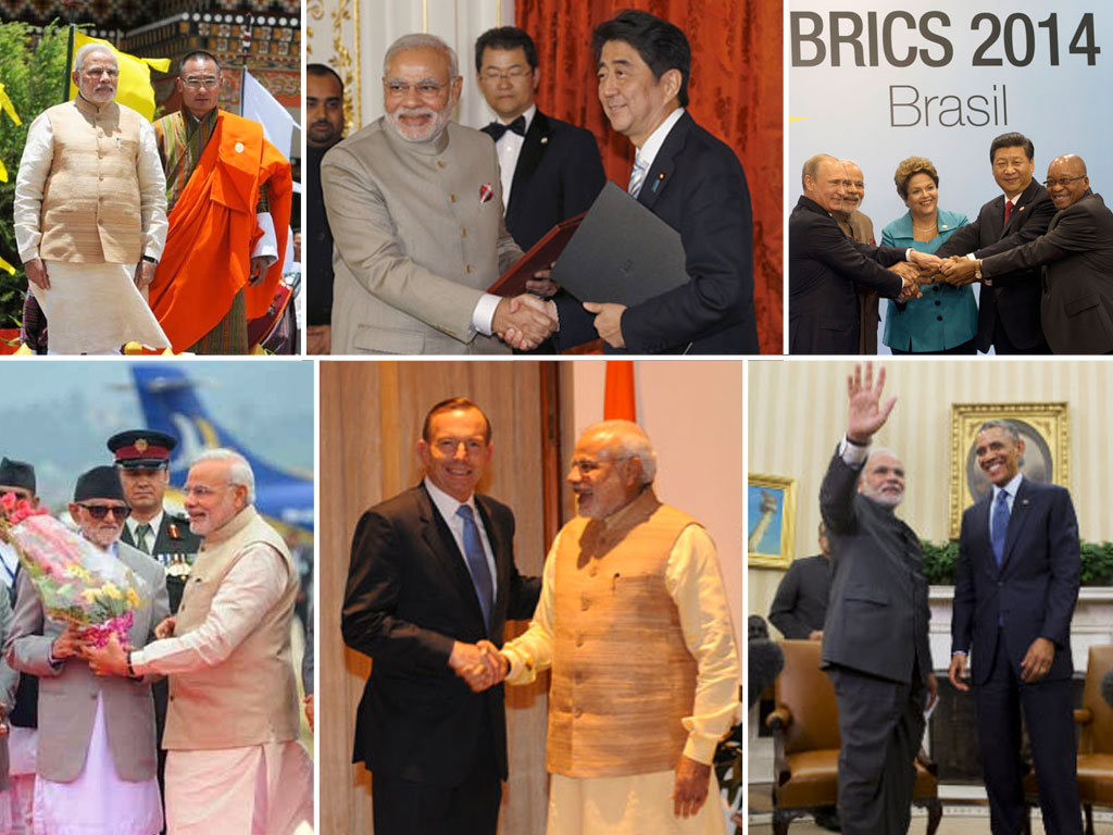Modi Major Foreign Visits