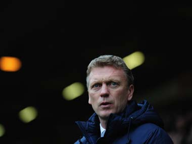 File photo of David Moyes. Getty Images