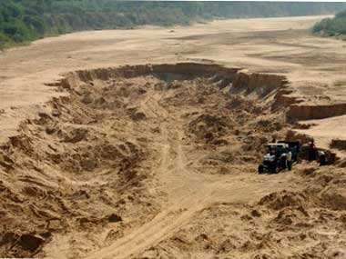 AAP wants vigilance probe into illegal sand mining in Punjab suggests app to allow citizens to report such cases