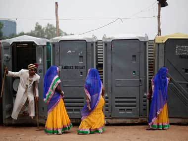 93 rural households with access to toilets use them reveals national sanitation survey